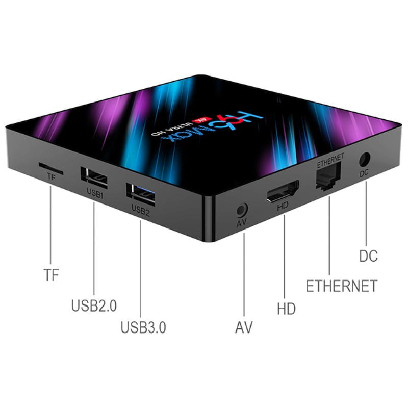 Branchement box tv android