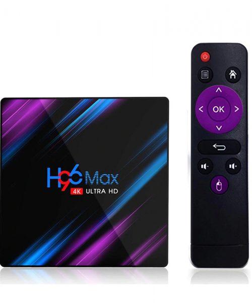 BOX TV H96 MAX
